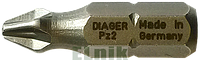 Бита крестообразная PZ 2 110мм, DIAGER [96SD0096SDPZ2L1100]