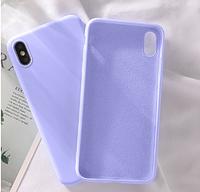 "Чехол безкаркасный ""Жидкий силикон"" для Xiaomi redmi Note 7 / Note 7 Pro / Note 7s - фиалка"