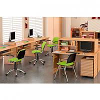 Мебель для персонала Бюджет №1 (4 рабочих места)