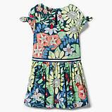 Летнее платье с цветами Gymboree для девочки, фото 2