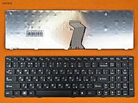 Клавиатура для Lenovo IdeaPad G570 G575 G770 G780 G560 G565 Z560 Z565, RU, черная