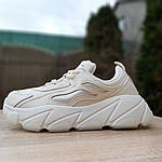 Жіночі кросівки Balenciaga (бежеві), фото 4