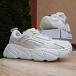 Жіночі кросівки Balenciaga (бежеві), фото 6