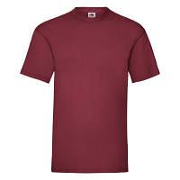 Кирпично-красная мужская летняя футболка под принт, фото 1