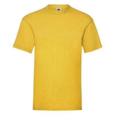 Красивая мужская футболка желтого цвета на лето