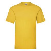 Красивая мужская футболка желтого цвета на лето, фото 1