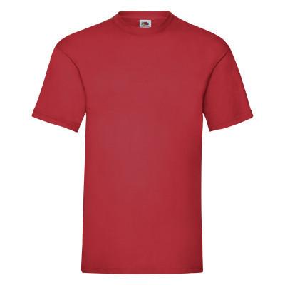 Стильная футболка красного цвета на лето для мужчин
