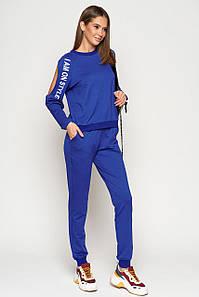Женский спортивный костюм с надписями на рукавах (Джимми mm)