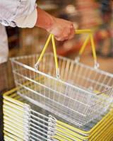 Аксессуары: ценники, ценникодержатели, корзины покупательские, тележки, монетници, уголок покупателя