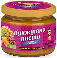 Кунжутная паста Master Bob - Sesame Butter с медом и корицей (200 грамм)