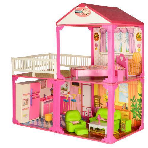 """Домик для """"Барби"""" в коробке 60-42-18 см - фото 2"""