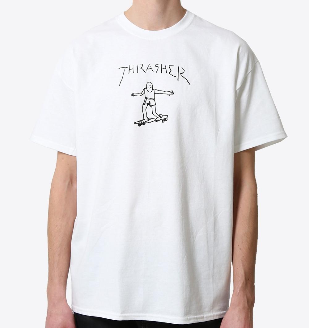 Футболка біла LOYS Thrasher Flame Gonz S