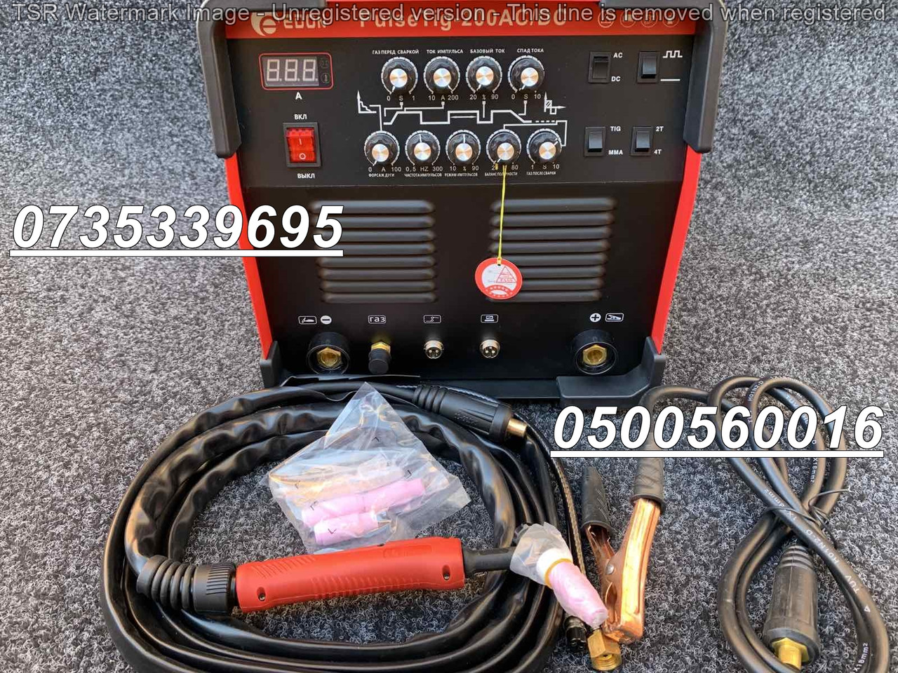 Аппарат сварочный Edon PulseTIG-200ACDC