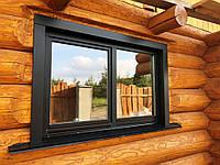 Деревянные евроокна со стеклопакетом, фото 1