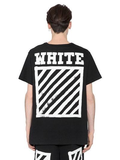 Футболка чёрная LOYS Off White full S