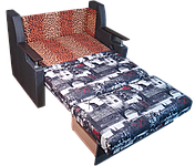 Диван ліжко Березня (Амстердам) 120 Диван з нішею для білизни, фото 2