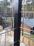 ESS нержавеющий наконечник для троса, резьба левая, удлиненная, для леерного ограждения., фото 4