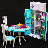 """Мебель для кукол """"Глория"""". Столовая. Мебель для Барби."""