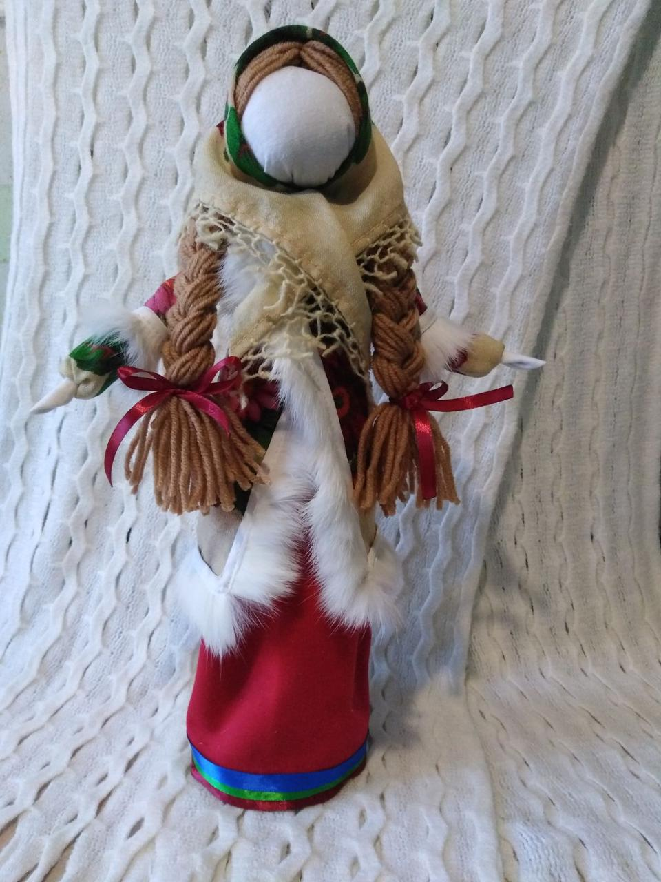 Лялька - мотанка Зимова Берегиня 40 см