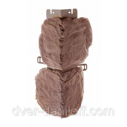 Наружный угол Альта-Профиль Бутовый камень 0,472х0,112 м Скифский, фото 2