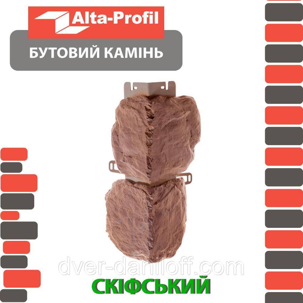 Наружный угол Альта-Профиль Бутовый камень Греческий (5707)