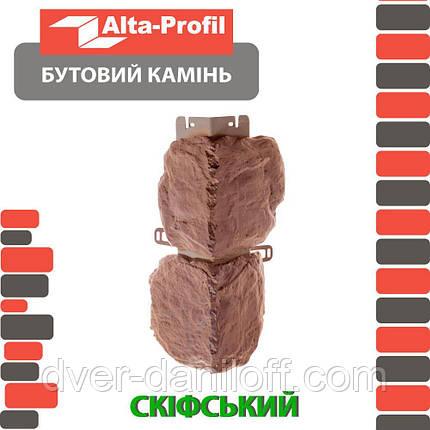 Наружный угол Альта-Профиль Бутовый камень Греческий (5707), фото 2