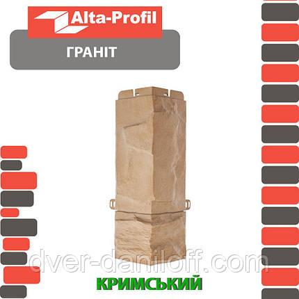 Наружный угол Альта-Профиль Гранит Крымский (5451), фото 2
