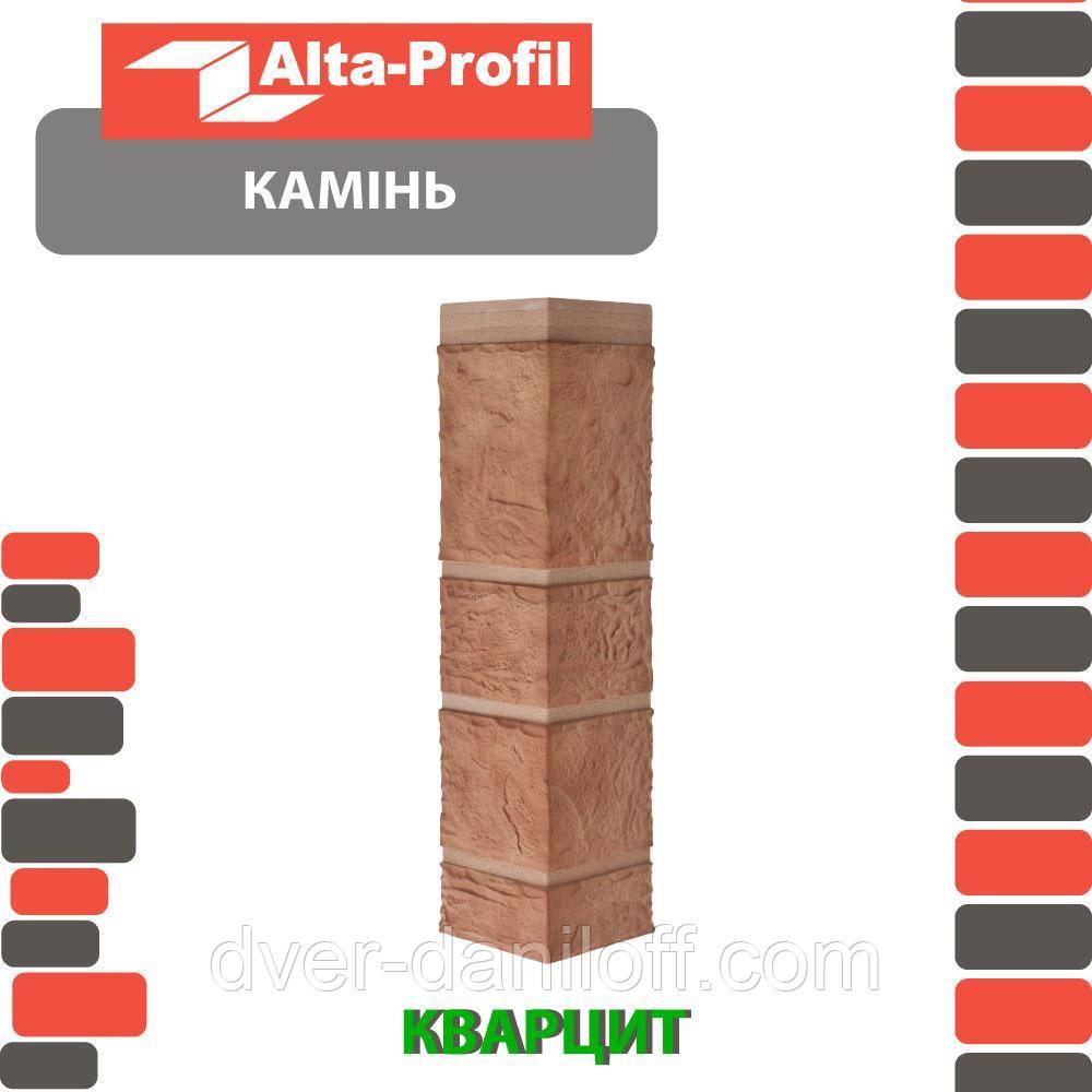 Наружный угол Альта-Профиль Камень 0,472х0,112 м Кварцит