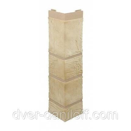 Наружный угол Альта-Профиль Камень 0,472х0,112 м Песчаник, фото 2