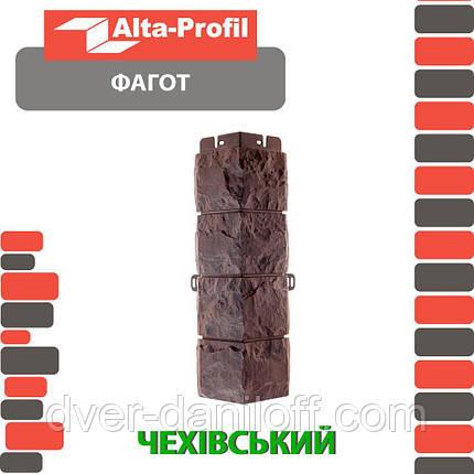 Наружный угол Альта-Профиль Фагот 0,445х0,148 м Чеховский, фото 2