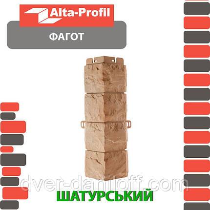 Наружный угол Альта-Профиль Фагот 0,445х0,148 м Шатурский, фото 2