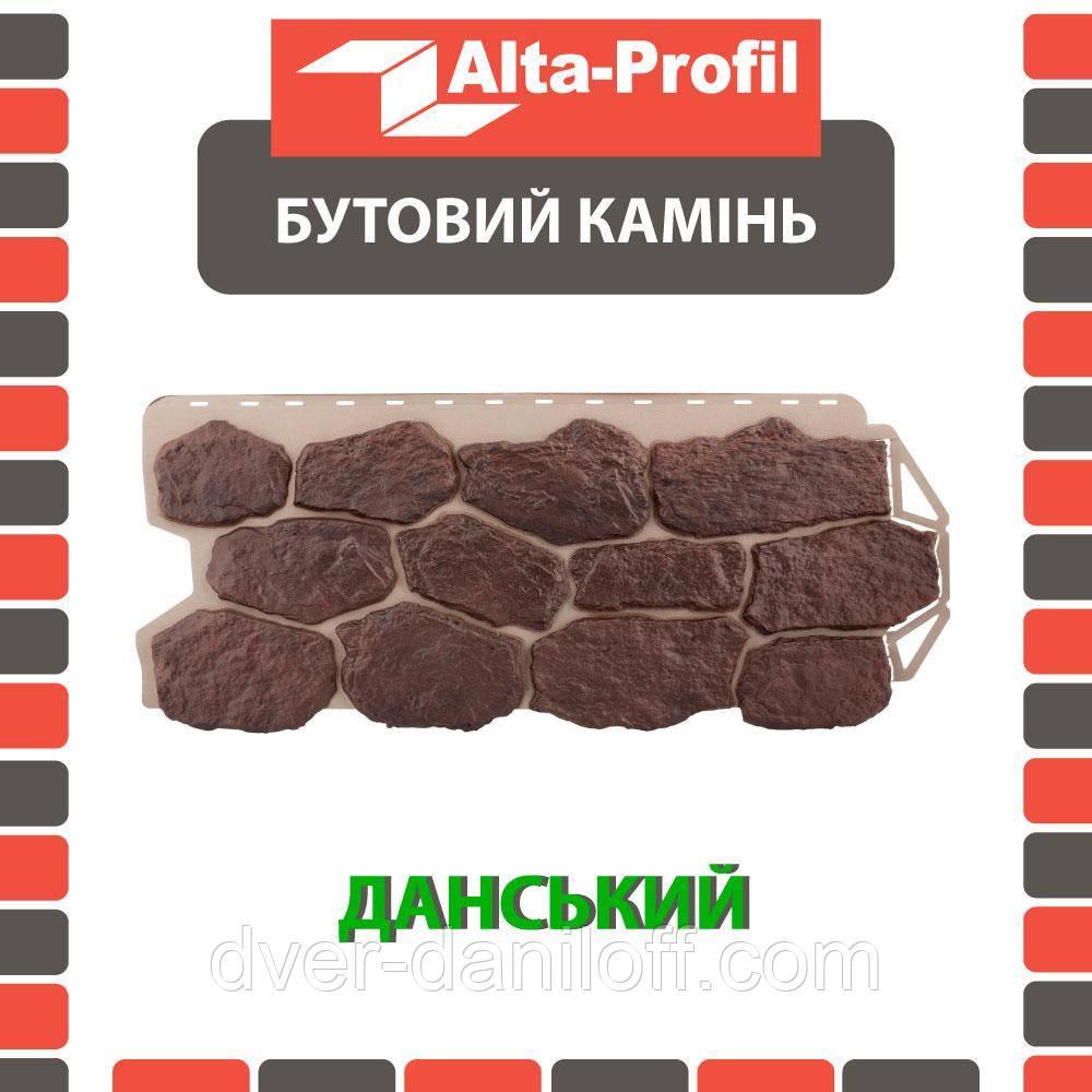 Фасадная панель Альта-Профиль Бутовый камень 1130х470х20 мм Датский
