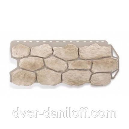 Фасадная панель Альта-Профиль Бутовый камень 1130х470х20 мм Нормандский, фото 2
