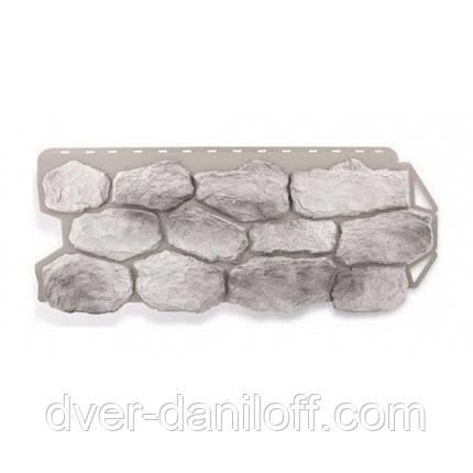 Фасадная панель Альта-Профиль Бутовый камень 1130х470х20 мм Скандинавский, фото 2