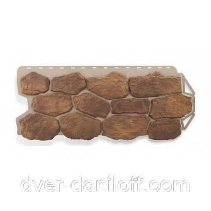 Фасадная панель Альта-Профиль Бутовый камень 1130х470х20 мм Скифский, фото 2