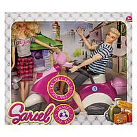 Кукла и Кен на музыкальном скутере Sariel