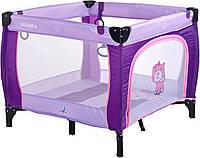 Детский манеж Caretero Quadra Purple, фото 1