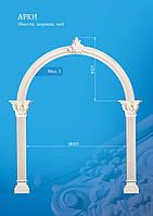 Арки гипсовые, гипсовые арки, арки круглые, арка из гипсовой лепнины, арки межкомнатные.
