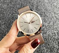 Женские модные наручные популярные часы в стиле Лакоста