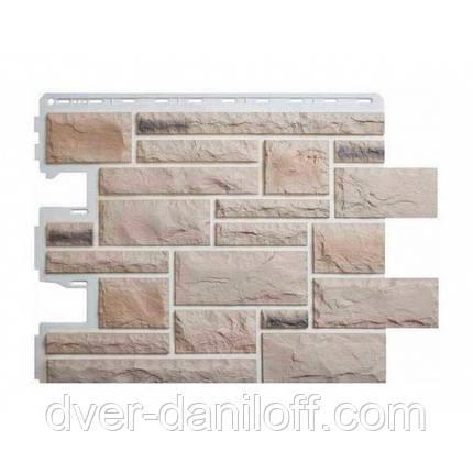 Фасадная панель Альта-Профиль Камень Пражский 795х591х20 мм цвет 01, фото 2