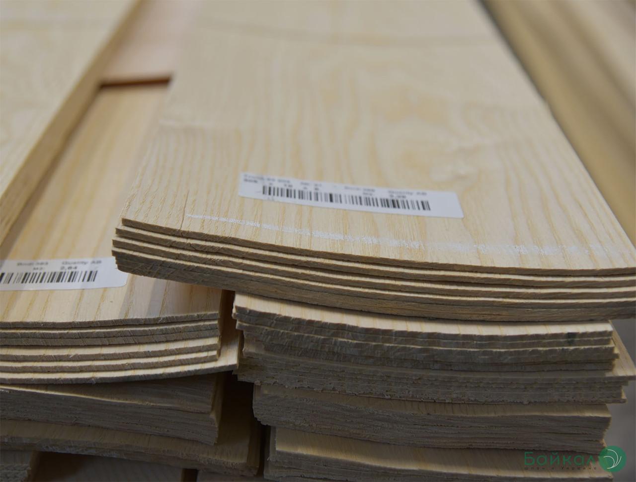 Шпон Ясеня Белого - 2,5 мм длина от 0,50 - 0,75 м / ширина от 9 см (I сорт)