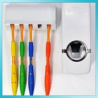 Дозатор зубной пасты с подставкой для щеток, фото 1