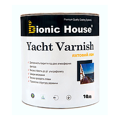 Яхтный лак Bionic House Yacht Varnish 10л
