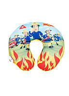 "Подушка под шею ""Пожарный Сэм"" Disney 32х32х8см"