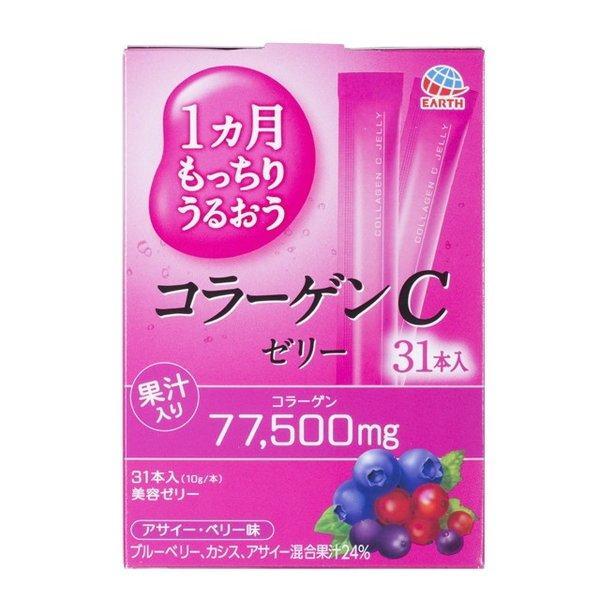 Earth Біохімічний Collagen C Jelly Колаген желе з вітаміном З, 31 шт по 10 г
