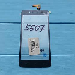 Сенсорный экран для Prestigio MultiPhone PAP 5507 Duo Черный