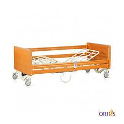 Кровать медицинская 4х-секционная с электроприводом Tami на колесах с поручнями и гусаком OSD-91