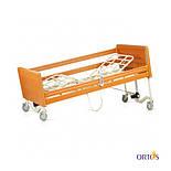 Кровать медицинская 4х-секционная с электроприводом Tami на колесах с поручнями и гусаком OSD-91, фото 4
