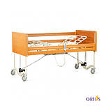 Кровать медицинская 4х-секционная с электроприводом Tami на колесах с поручнями и гусаком OSD-91, фото 5