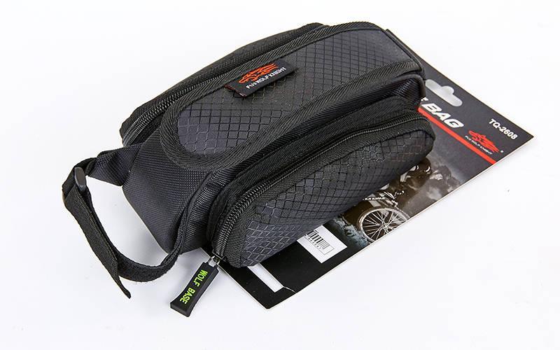 Сумка на раму велосипеда (PL, 21x13x11см, черный) PZ-TQ-2605